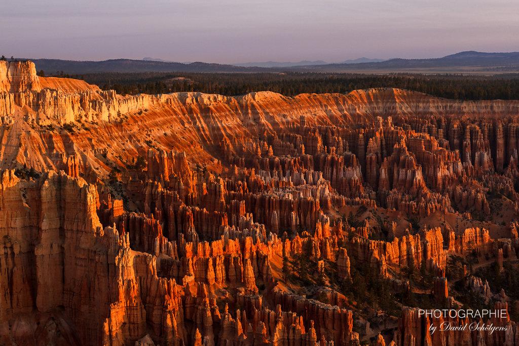 Bryce Canyon im Sonnenaufgang / Bryce Canyon at sunrise