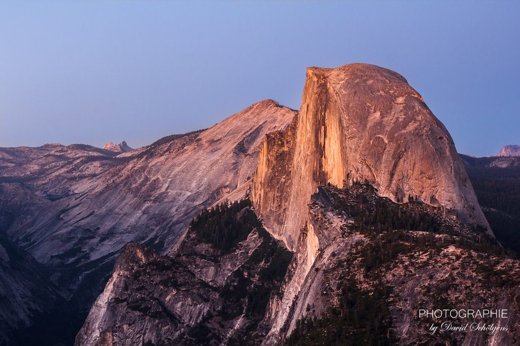 Half Dome im Sonnenuntergang / Half Dome at sunset