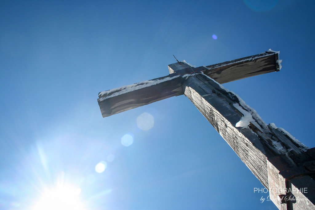 Am Gipfel / summit cross